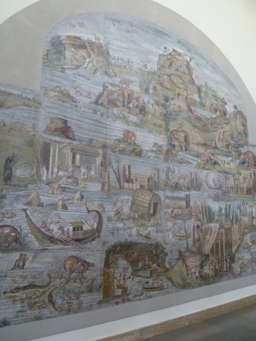 Archeologische rondreis Italië - Nijlmozaïek