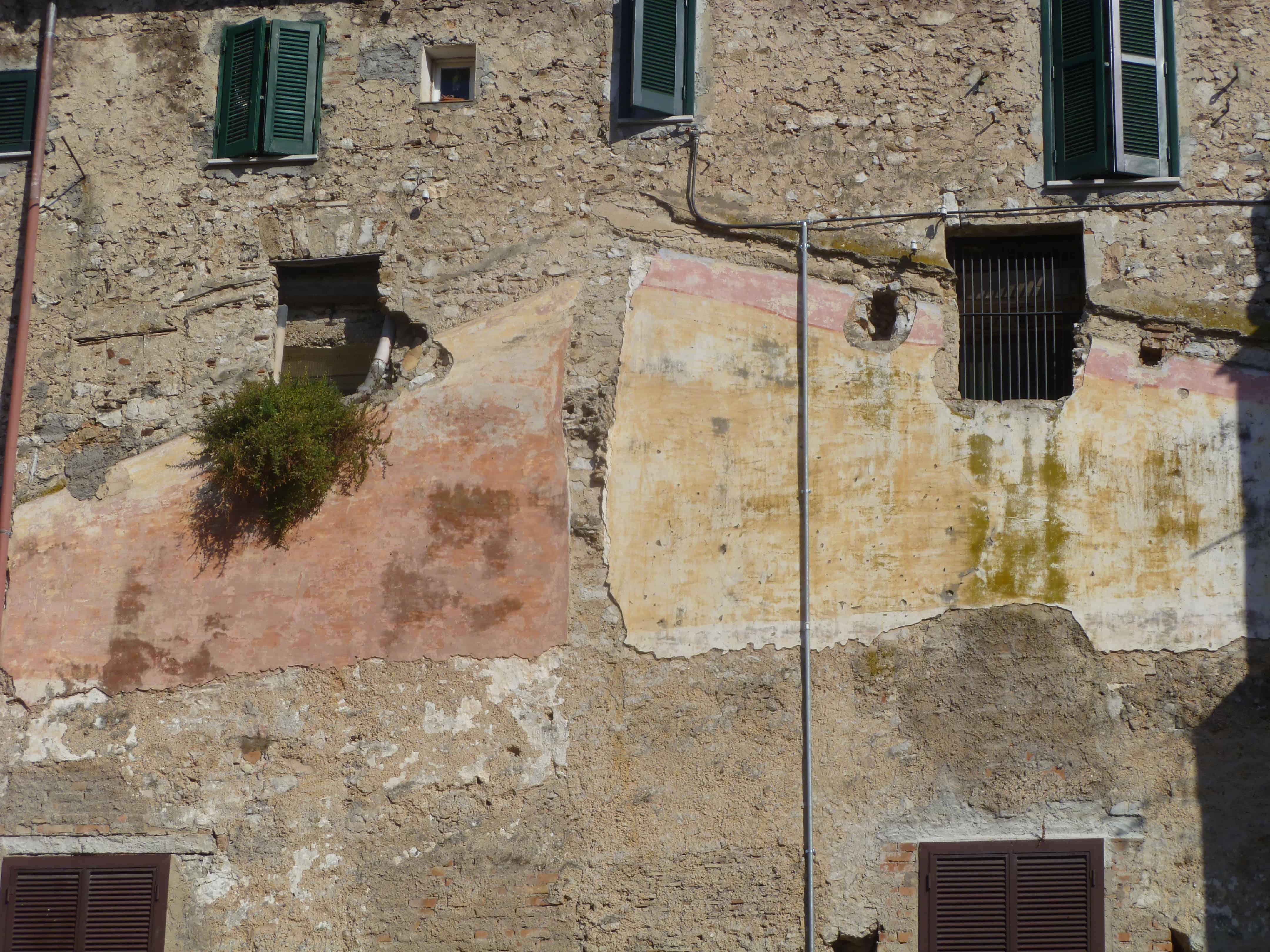 Archeologische rondreis Italië - Pleisterwerk