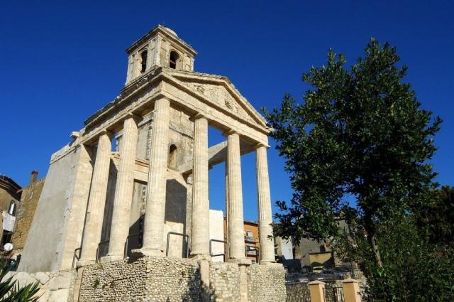 Archeologische rondreis Italië - Tempel van Hercules, Cori
